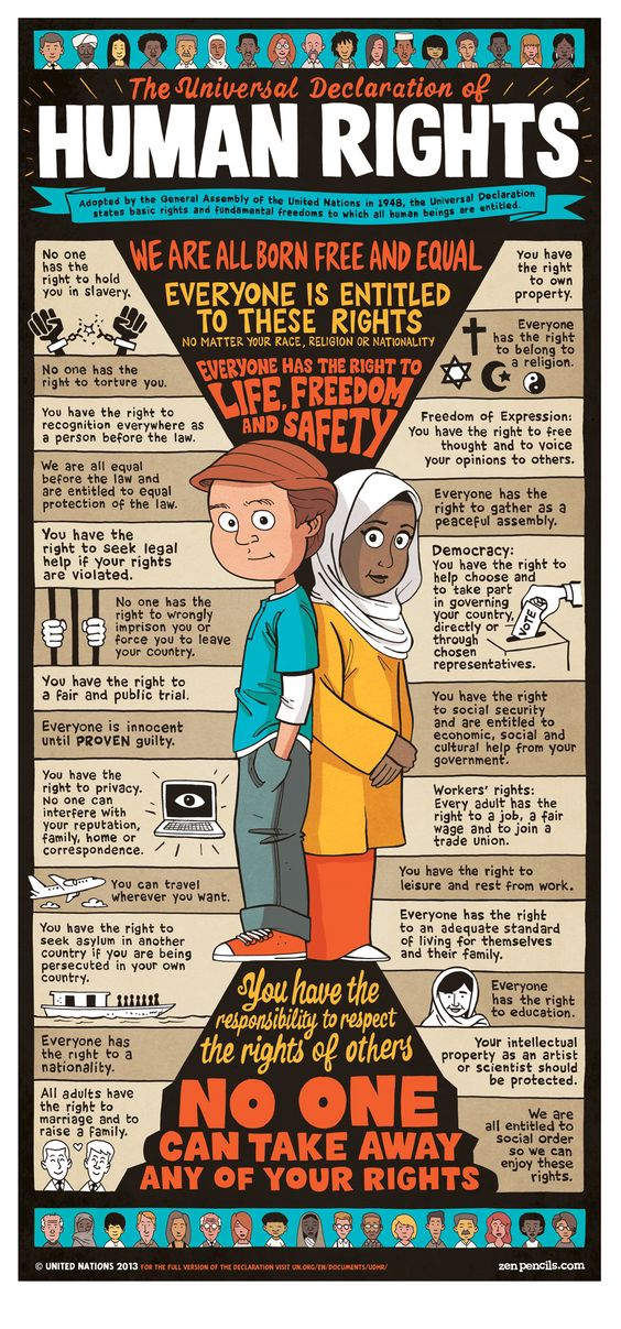 declaration of human rights pdf for kids