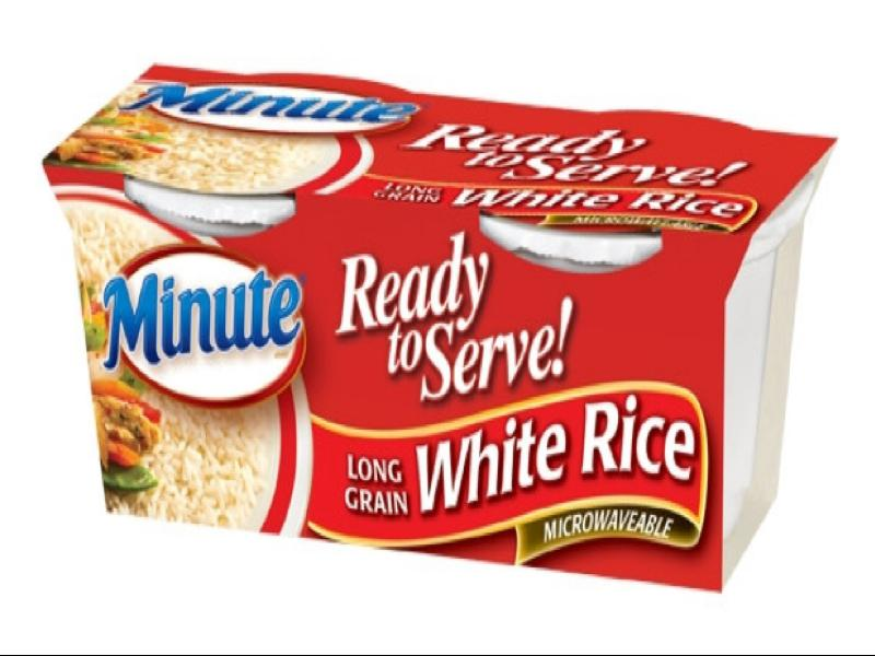nutritional value of white rice pdf