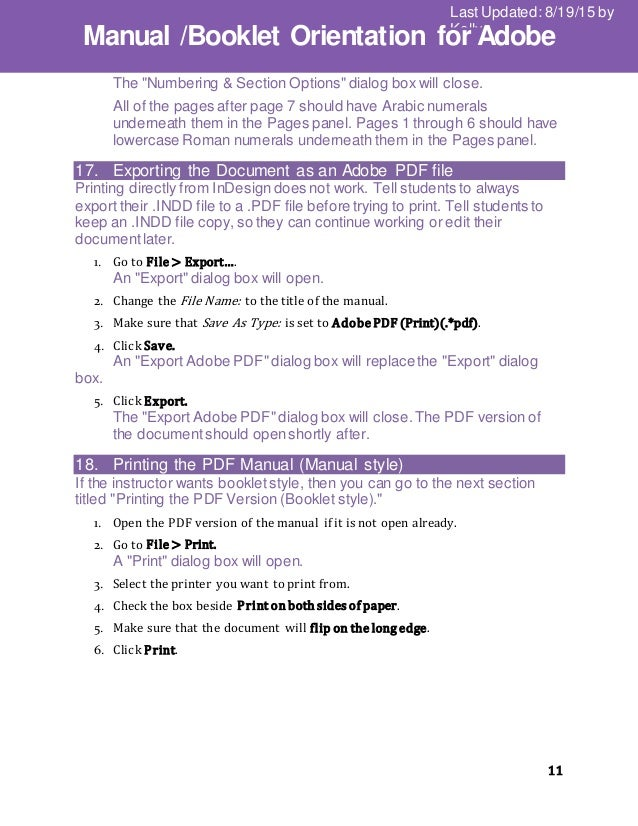 indesign export single pdf pages from multiple page indd file