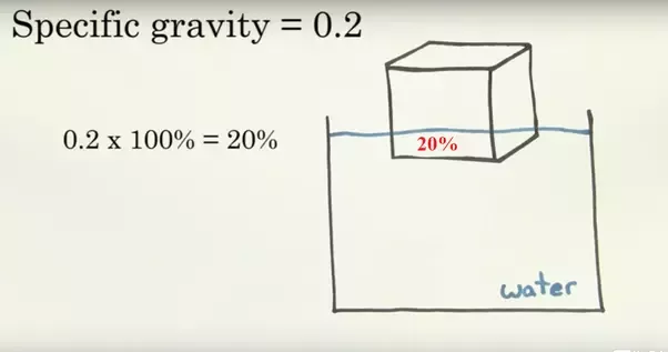 difference between specific gravity and density pdf