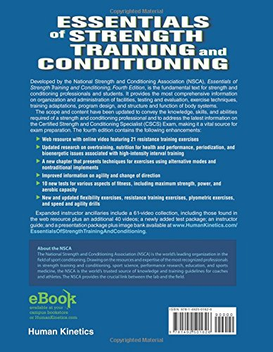 essentials of strength and conditioning 4th edition pdf free