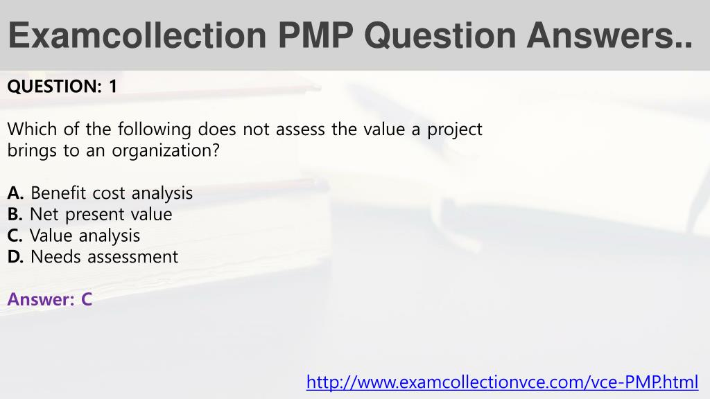 pmp test questions and answers pdf