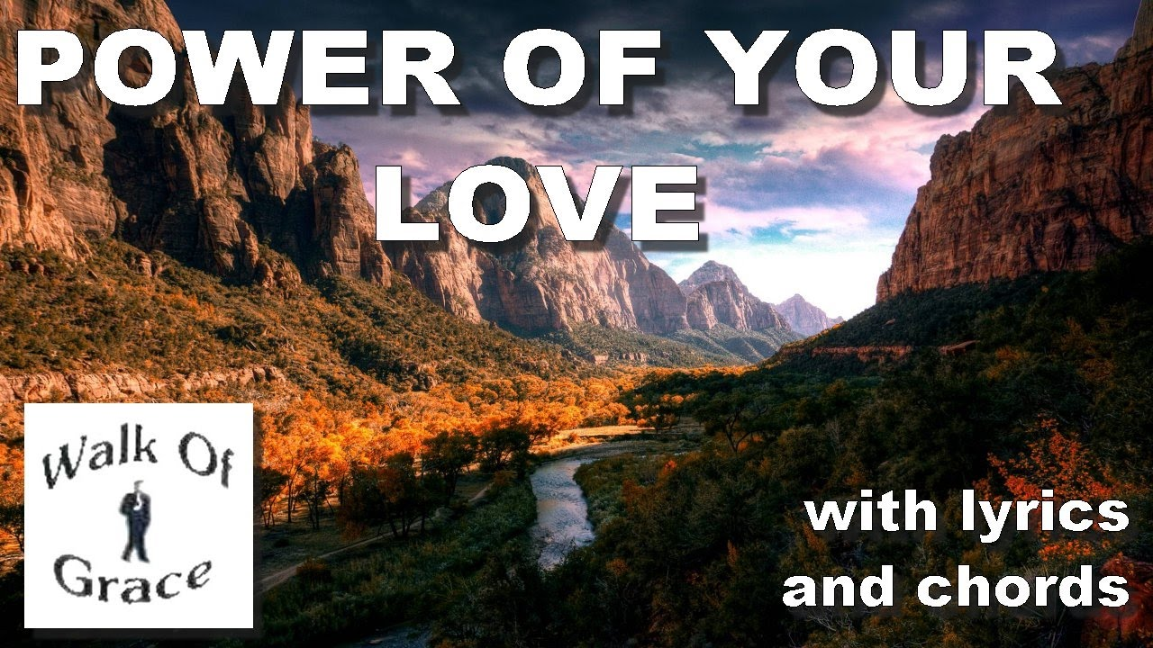 power of your love chords pdf